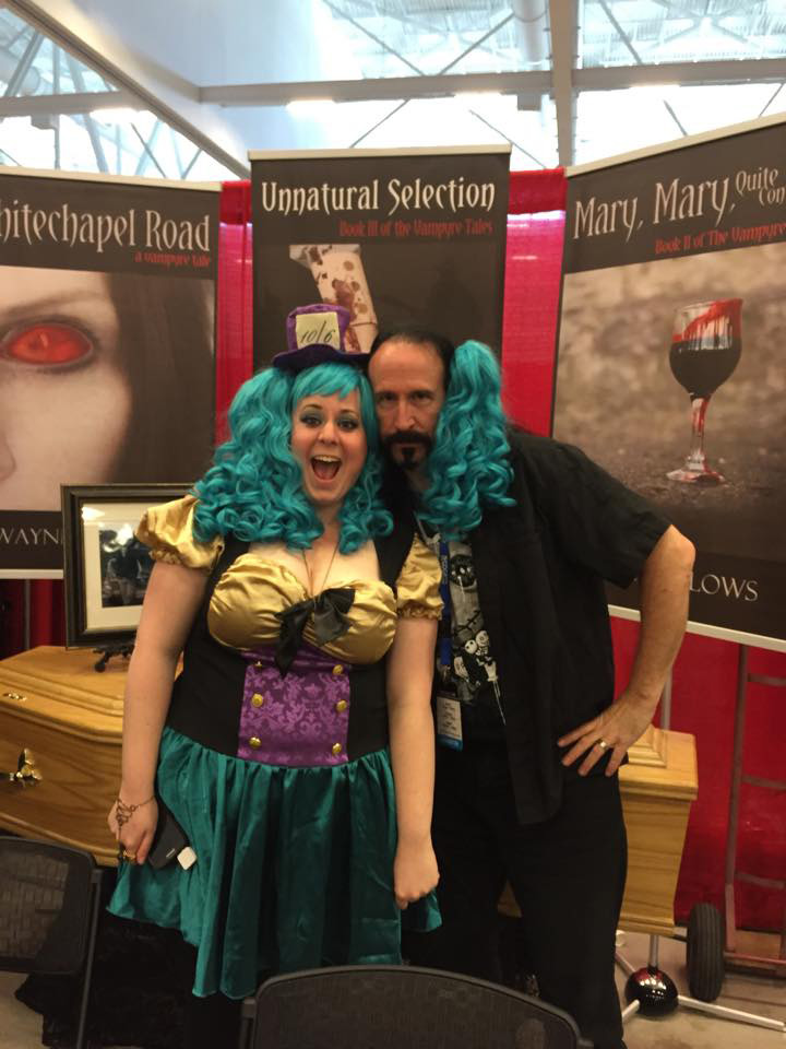 Niagara Falls Comic Con 2015 with my pal Michelle Grim