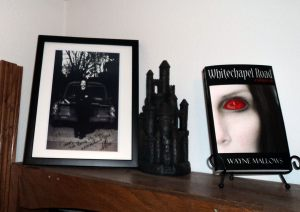 Fan Pic from my friend Vicki - My first international book sale.