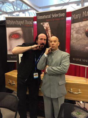 Niagara Falls Comic Con 2015 Wayne & Dr Evil